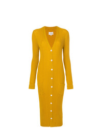 Cardigan long jaune Maison Margiela