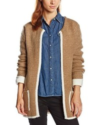 Cardigan marron clair Only