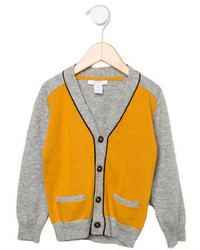 Cardigan moutarde