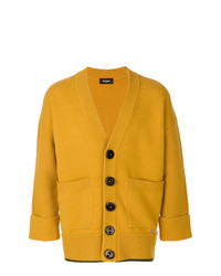 Cardigan moutarde DSQUARED2