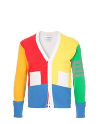 Cardigan multicolore Thom Browne