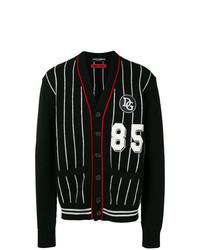 Cardigan noir et blanc Dolce & Gabbana