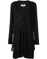 Cardigan noir MM6 MAISON MARGIELA