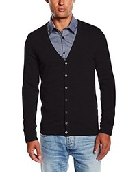 Cardigan noir Tom Tailor