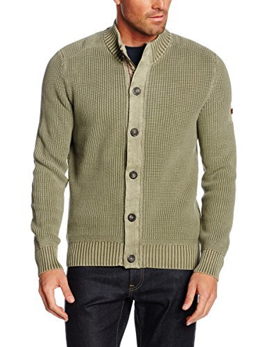 Cardigan olive camel active