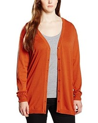 Cardigan orange Sheego