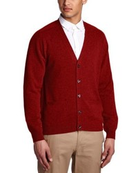 Cardigan rouge Alan Paine