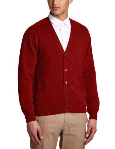 Cardigan rouge Alan Paine