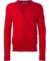 Cardigan rouge Dolce & Gabbana