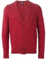 Cardigan rouge Eleventy