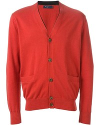Cardigan rouge Paul Smith