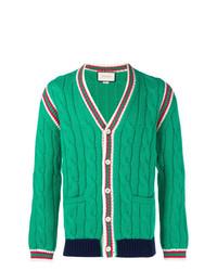 Cardigan vert Gucci