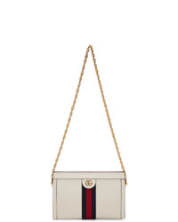 Cartable en cuir blanc Gucci