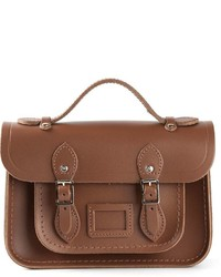 Cartable en cuir brun The Cambridge Satchel Company
