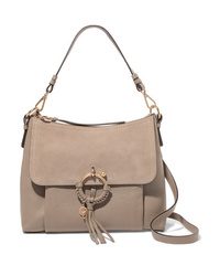 Cartable en cuir gris See by Chloe