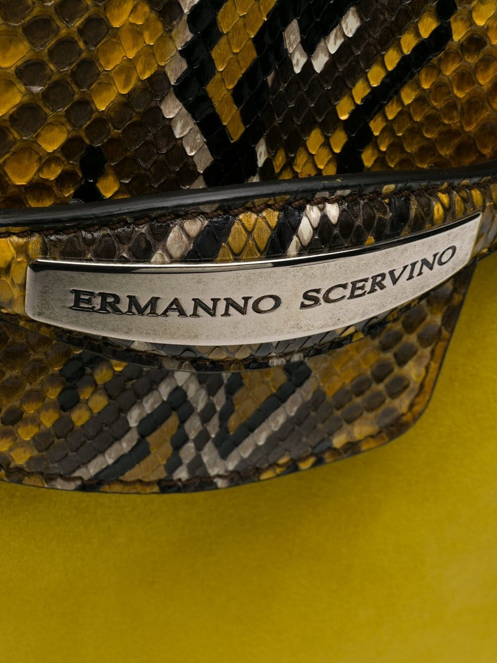 cuir jaune en Ermanno Cartable Scervino SVqUpMz