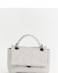 Cartable en cuir matelassé blanc Valentino by Mario Valentino