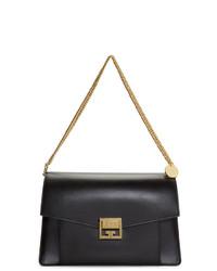 Cartable en cuir noir Givenchy