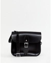 Cartable en cuir noir Leather Satchel Company