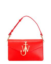 Cartable en cuir rouge JW Anderson