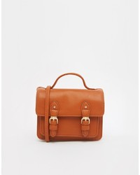 Cartable en cuir tabac Asos