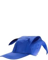 Casquette bleue Bernhard Willhelm