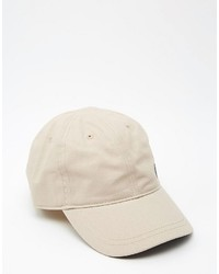 Casquette de base-ball beige Fred Perry