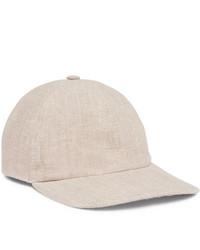 Casquette de base-ball beige Lock & Co Hatters
