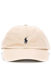 Casquette de base-ball beige Polo Ralph Lauren