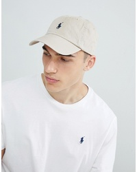 Casquette de base-ball beige Polo Ralph Lauren