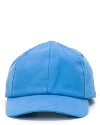 Casquette de base-ball bleu clair AMI Alexandre Mattiussi