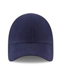 Casquette de base-ball bleu marine