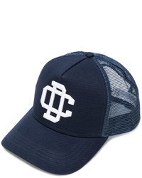Casquette de base-ball bleu marine DSQUARED2