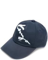 Casquette de base-ball bleu marine Kenzo