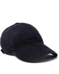 Casquette de base-ball bleu marine Officine Generale