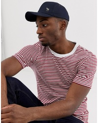 Casquette de base-ball bleu marine Paul Smith