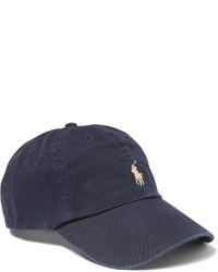 Casquette de base-ball bleu marine Polo Ralph Lauren