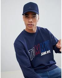 Casquette de base-ball bleu marine Tommy Hilfiger