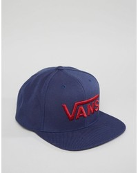 Casquette de base-ball bleu marine Vans