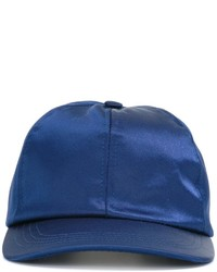 Casquette de base-ball bleue AMI Alexandre Mattiussi