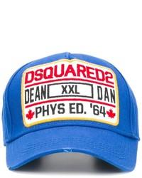 Casquette de base-ball bleue DSQUARED2