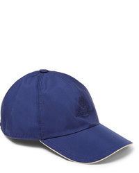 Casquette de base-ball bleue Loro Piana