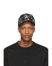 Casquette de base-ball camouflage olive Marcelo Burlon County of Milan