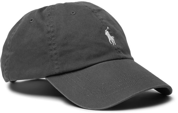 Casquette de base-ball gris foncé Polo Ralph Lauren, €61   MR PORTER ... c37b1e093b9