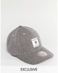 Casquette de base-ball grise Mitchell & Ness