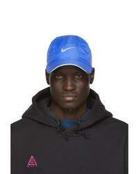 Casquette de base-ball imprimée bleue Nike