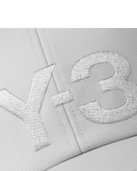 Casquette de base-ball imprimée grise Y-3