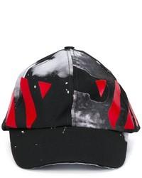 Casquette de base-ball imprimée noire Off-White