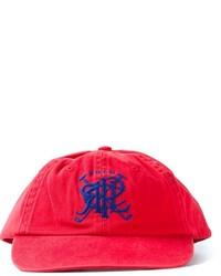 Casquette de base-ball imprimée rouge Polo Ralph Lauren