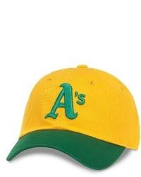Casquette de base-ball jaune